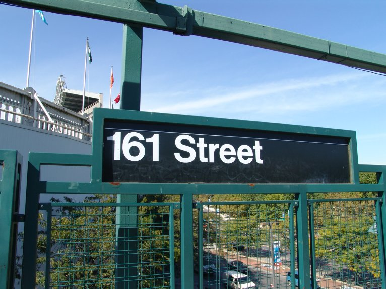 (101k, 766x575)<br><b>Country:</b> United States<br><b>City:</b> New York<br><b>System:</b> New York City Transit<br><b>Line:</b> IRT Woodlawn Line<br><b>Location:</b> 161st Street/River Avenue (Yankee Stadium) <br><b>Photo by:</b> Richard Panse<br><b>Date:</b> 10/13/2004<br><b>Viewed (this week/total):</b> 3 / 2620