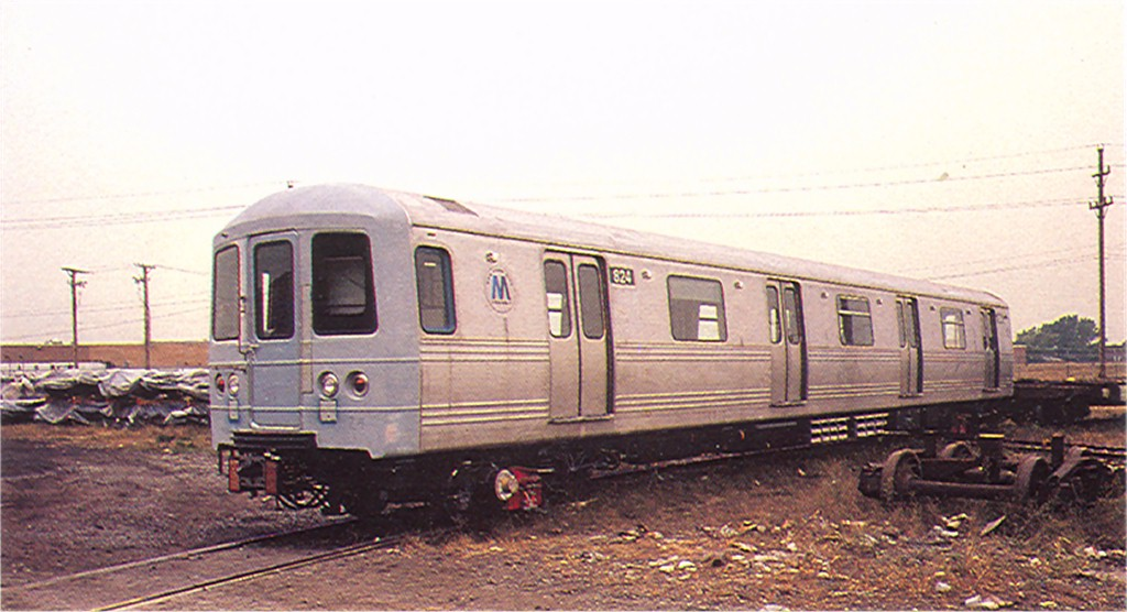 (148k, 1024x556)<br><b>Country:</b> United States<br><b>City:</b> New York<br><b>System:</b> New York City Transit<br><b>Location:</b> Pullman-Standard plant, Chicago, IL<br><b>Car:</b> R-46 (Pullman-Standard, 1974-75) 824 <br><b>Photo by:</b> Doug Grotjahn<br><b>Collection of:</b> Joe Testagrose<br><b>Date:</b> 9/25/1976<br><b>Viewed (this week/total):</b> 0 / 4564
