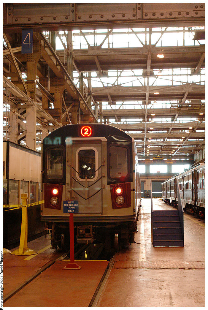 (291k, 701x1044)<br><b>Country:</b> United States<br><b>City:</b> New York<br><b>System:</b> New York City Transit<br><b>Location:</b> 207th Street Shop<br><b>Car:</b> R-142 (Option Order, Bombardier, 2002-2003)  1131 <br><b>Photo by:</b> David Pirmann<br><b>Date:</b> 11/6/2004<br><b>Viewed (this week/total):</b> 0 / 5409