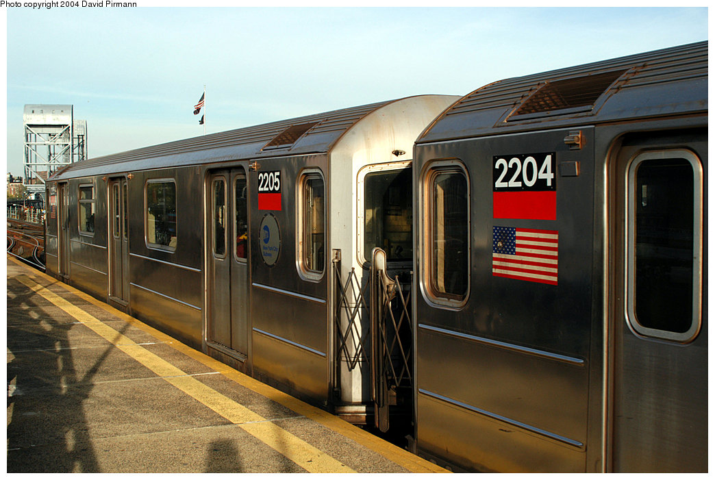 (245k, 1044x701)<br><b>Country:</b> United States<br><b>City:</b> New York<br><b>System:</b> New York City Transit<br><b>Line:</b> IRT West Side Line<br><b>Location:</b> 215th Street <br><b>Route:</b> 1<br><b>Car:</b> R-62A (Bombardier, 1984-1987)  2205 <br><b>Photo by:</b> David Pirmann<br><b>Date:</b> 11/6/2004<br><b>Viewed (this week/total):</b> 0 / 2867