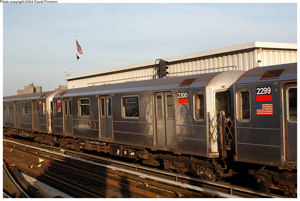 (248k, 1044x701)<br><b>Country:</b> United States<br><b>City:</b> New York<br><b>System:</b> New York City Transit<br><b>Line:</b> IRT West Side Line<br><b>Location:</b> 215th Street <br><b>Route:</b> 1<br><b>Car:</b> R-62A (Bombardier, 1984-1987)  2300 <br><b>Photo by:</b> David Pirmann<br><b>Date:</b> 11/6/2004<br><b>Viewed (this week/total):</b> 1 / 3010