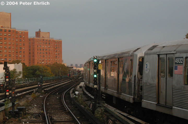 (130k, 720x478)<br><b>Country:</b> United States<br><b>City:</b> New York<br><b>System:</b> New York City Transit<br><b>Location:</b> East New York Yard/Shops<br><b>Car:</b> R-42 (St. Louis, 1969-1970)  4579 <br><b>Photo by:</b> Peter Ehrlich<br><b>Date:</b> 10/27/2004<br><b>Viewed (this week/total):</b> 0 / 4127