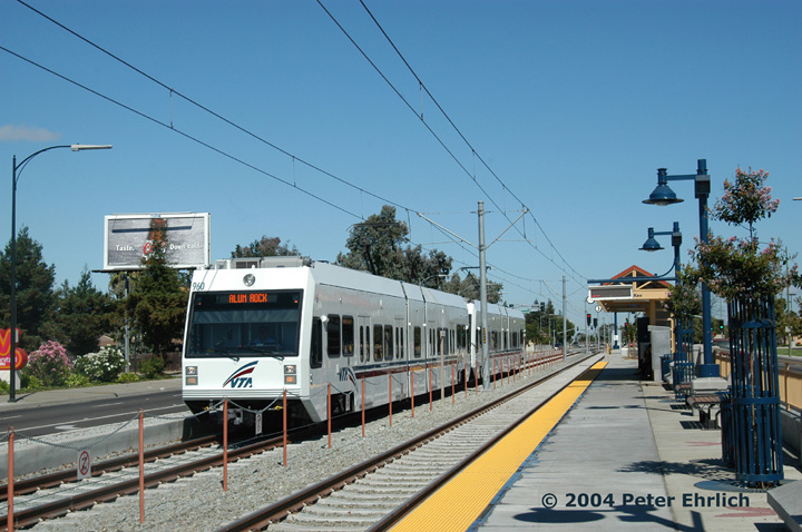 (156k, 720x478)<br><b>Country:</b> United States<br><b>City:</b> San Jose, CA<br><b>System:</b> Santa Clara VTA<br><b>Line:</b> VTA Tasman East/Capitol<br><b>Location:</b> McKee <br><b>Car:</b> VTA Kinki-Sharyo 960 <br><b>Photo by:</b> Peter Ehrlich<br><b>Date:</b> 8/25/2004<br><b>Viewed (this week/total):</b> 0 / 1385