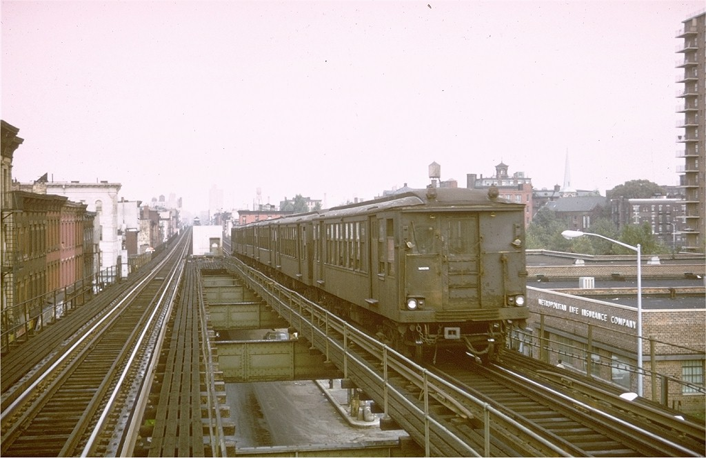 (166k, 1024x664)<br><b>Country:</b> United States<br><b>City:</b> New York<br><b>System:</b> New York City Transit<br><b>Line:</b> BMT Myrtle Avenue Line<br><b>Location:</b> Vanderbilt Avenue <br><b>Car:</b> BMT Q 1602 <br><b>Photo by:</b> Steve Zabel<br><b>Collection of:</b> Joe Testagrose<br><b>Date:</b> 9/20/1969<br><b>Viewed (this week/total):</b> 0 / 4227