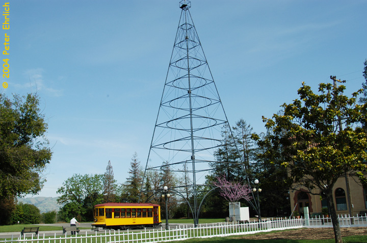 (169k, 720x478)<br><b>Country:</b> United States<br><b>City:</b> San Jose, CA<br><b>System:</b> Kelley Park Vintage Trolley <br><b>Car:</b>  143 <br><b>Photo by:</b> Peter Ehrlich<br><b>Date:</b> 3/28/2004<br><b>Viewed (this week/total):</b> 4 / 1296