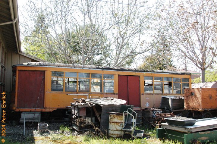 (246k, 720x478)<br><b>Country:</b> United States<br><b>City:</b> San Jose, CA<br><b>System:</b> Kelley Park Vintage Trolley <br><b>Car:</b> Milan Milano/Peter Witt (1927-1930)  1943 <br><b>Photo by:</b> Peter Ehrlich<br><b>Date:</b> 3/28/2004<br><b>Viewed (this week/total):</b> 0 / 3120
