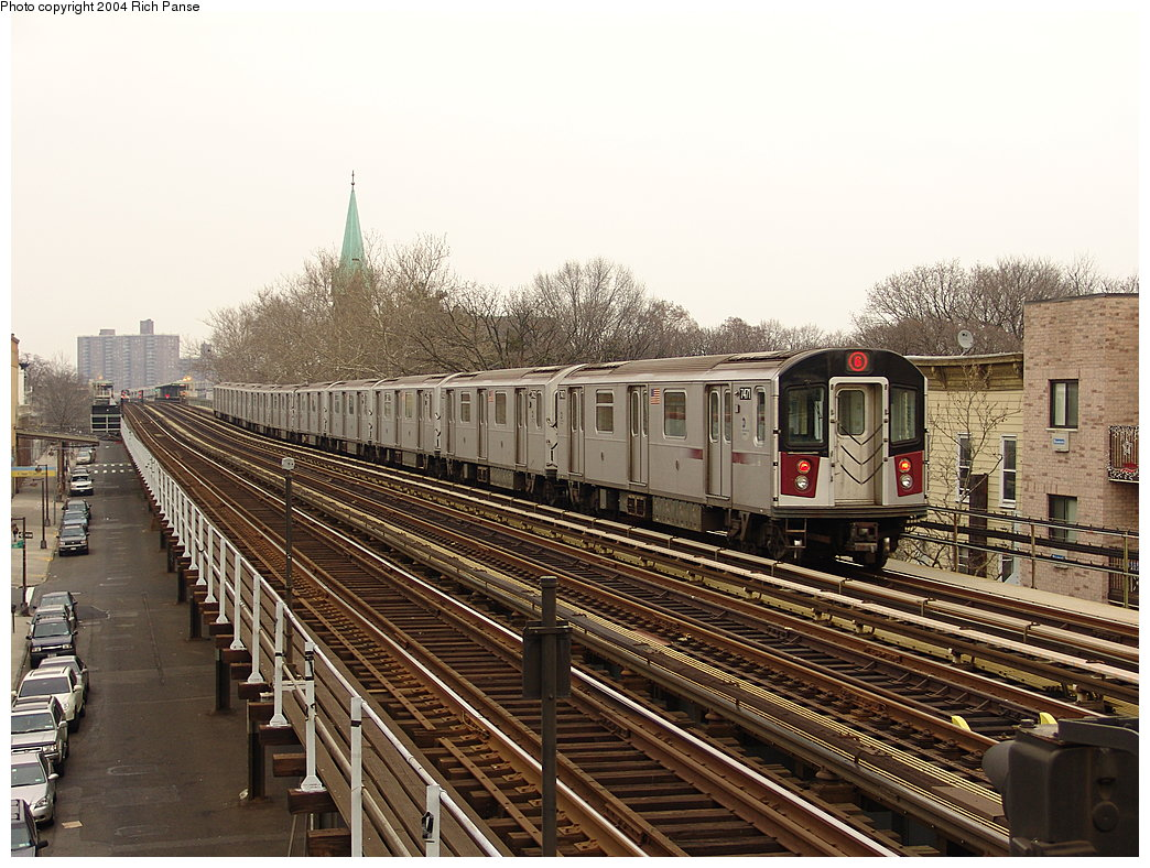 (232k, 1044x788)<br><b>Country:</b> United States<br><b>City:</b> New York<br><b>System:</b> New York City Transit<br><b>Line:</b> IRT Pelham Line<br><b>Location:</b> Zerega Avenue <br><b>Route:</b> 6<br><b>Car:</b> R-142A (Primary Order, Kawasaki, 1999-2002)  7471 <br><b>Photo by:</b> Richard Panse<br><b>Date:</b> 12/19/2004<br><b>Viewed (this week/total):</b> 2 / 4121