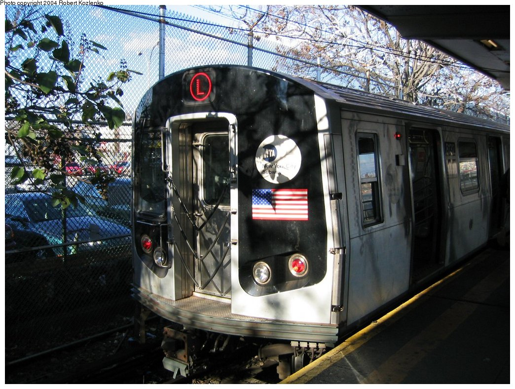 (227k, 1044x788)<br><b>Country:</b> United States<br><b>City:</b> New York<br><b>System:</b> New York City Transit<br><b>Line:</b> BMT Canarsie Line<br><b>Location:</b> Rockaway Parkway <br><b>Route:</b> L<br><b>Car:</b> R-143 (Kawasaki, 2001-2002) 8132 <br><b>Photo by:</b> Robert Kozlenko<br><b>Date:</b> 11/26/2004<br><b>Viewed (this week/total):</b> 0 / 2748