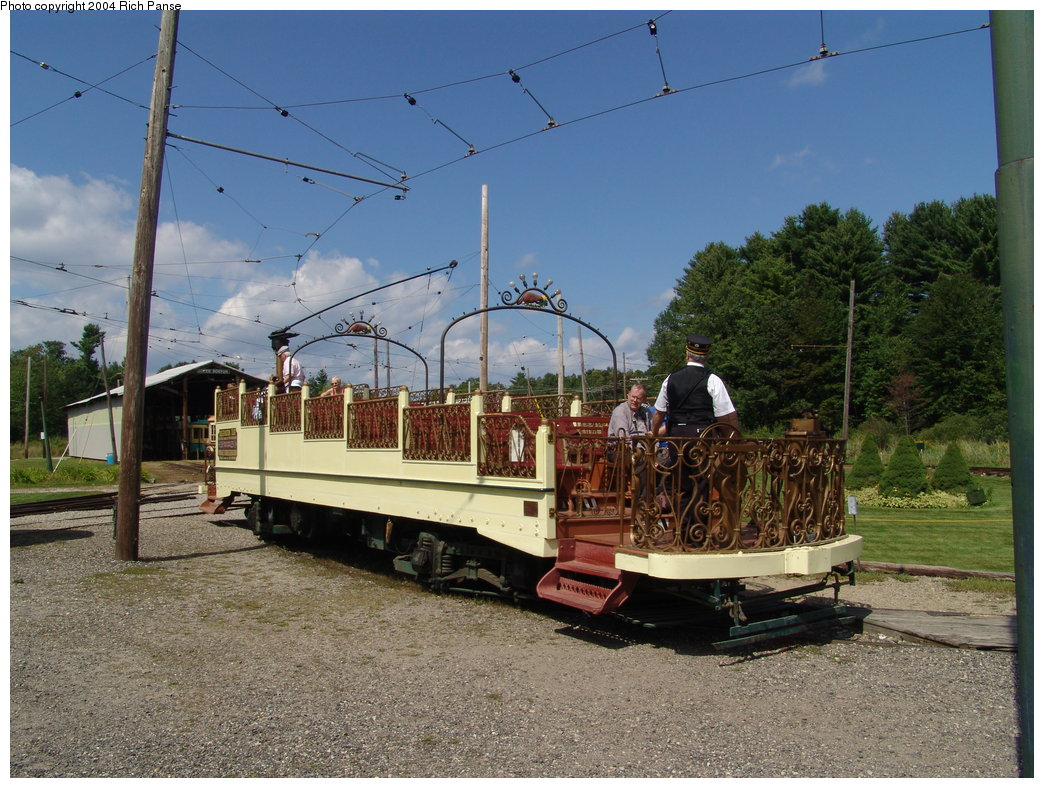 (226k, 1044x788)<br><b>Country:</b> United States<br><b>City:</b> Kennebunk, ME<br><b>System:</b> Seashore Trolley Museum <br><b>Car:</b> Montreal Tramways 2 <br><b>Photo by:</b> Richard Panse<br><b>Date:</b> 9/4/2004<br><b>Viewed (this week/total):</b> 1 / 1244