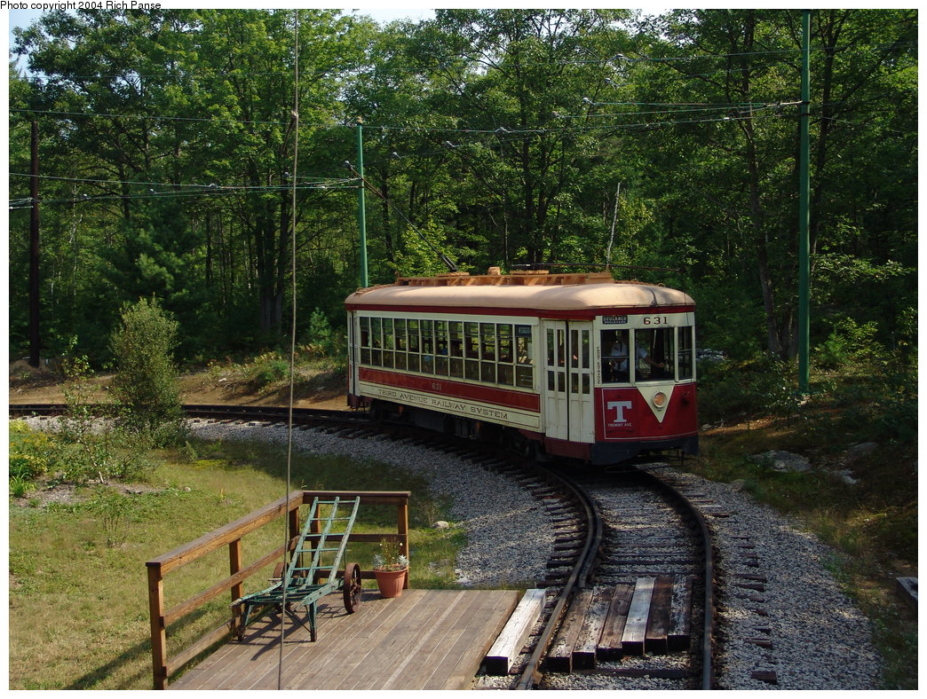 (318k, 1044x788)<br><b>Country:</b> United States<br><b>City:</b> Kennebunk, ME<br><b>System:</b> Seashore Trolley Museum <br><b>Car:</b> TARS 631 <br><b>Photo by:</b> Richard Panse<br><b>Date:</b> 9/4/2004<br><b>Notes:</b> Former Vienna 4216<br><b>Viewed (this week/total):</b> 0 / 1299