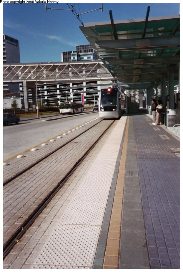 (150k, 622x923)<br><b>Country:</b> United States<br><b>City:</b> Houston, TX<br><b>System:</b> Houston METRORail<br><b>Location:</b> Texas Medical Center Transit Center <br><b>Photo by:</b> Valerie Harvey<br><b>Date:</b> 2/16/2005<br><b>Viewed (this week/total):</b> 2 / 2703