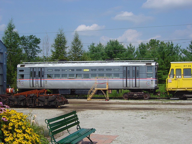 (126k, 640x480)<br><b>Country:</b> Canada<br><b>City:</b> Toronto<br><b>System:</b> Halton County Radial Railway <br><b>Car:</b> CTA 1-50 Series 48 <br><b>Photo by:</b> Michael Tricarico<br><b>Date:</b> 8/16/2004<br><b>Viewed (this week/total):</b> 0 / 2280