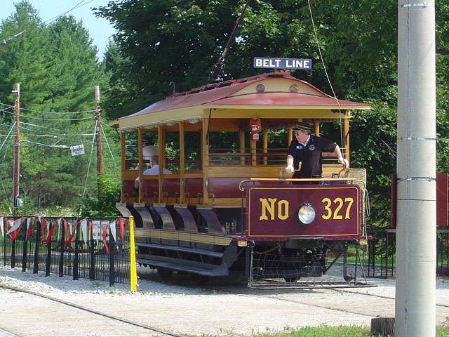 (146k, 640x480)<br><b>Country:</b> Canada<br><b>City:</b> Toronto<br><b>System:</b> Halton County Radial Railway <br><b>Car:</b>  327 <br><b>Photo by:</b> Michael Tricarico<br><b>Date:</b> 8/16/2004<br><b>Viewed (this week/total):</b> 2 / 2443