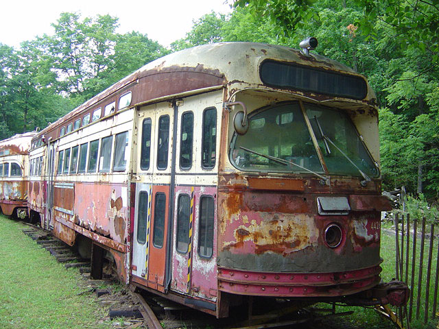 (152k, 640x480)<br><b>Country:</b> Canada<br><b>City:</b> Toronto<br><b>System:</b> Halton County Radial Railway <br><b>Car:</b> PCC (TTC Toronto) 4426 <br><b>Photo by:</b> Michael Tricarico<br><b>Date:</b> 8/16/2004<br><b>Viewed (this week/total):</b> 2 / 2439
