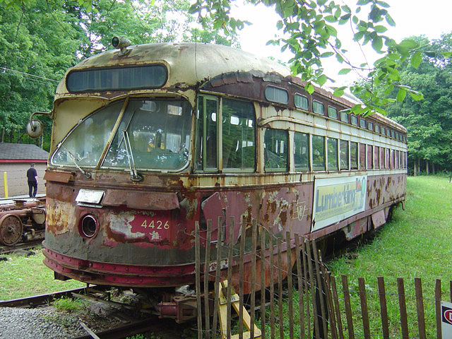 (156k, 640x480)<br><b>Country:</b> Canada<br><b>City:</b> Toronto<br><b>System:</b> Halton County Radial Railway <br><b>Car:</b> PCC (TTC Toronto) 4426 <br><b>Photo by:</b> Michael Tricarico<br><b>Date:</b> 8/16/2004<br><b>Viewed (this week/total):</b> 3 / 4156