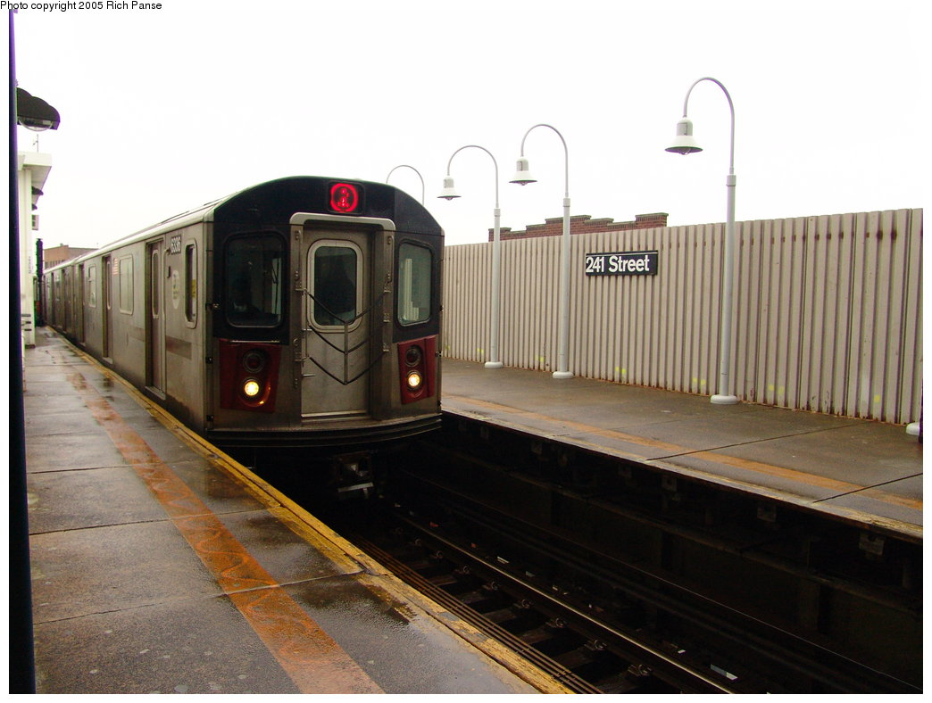 (155k, 1044x788)<br><b>Country:</b> United States<br><b>City:</b> New York<br><b>System:</b> New York City Transit<br><b>Line:</b> IRT White Plains Road Line<br><b>Location:</b> 241st Street <br><b>Route:</b> 2<br><b>Car:</b> R-142 (Primary Order, Bombardier, 1999-2002)  6336 <br><b>Photo by:</b> Richard Panse<br><b>Date:</b> 3/20/2005<br><b>Viewed (this week/total):</b> 5 / 5738