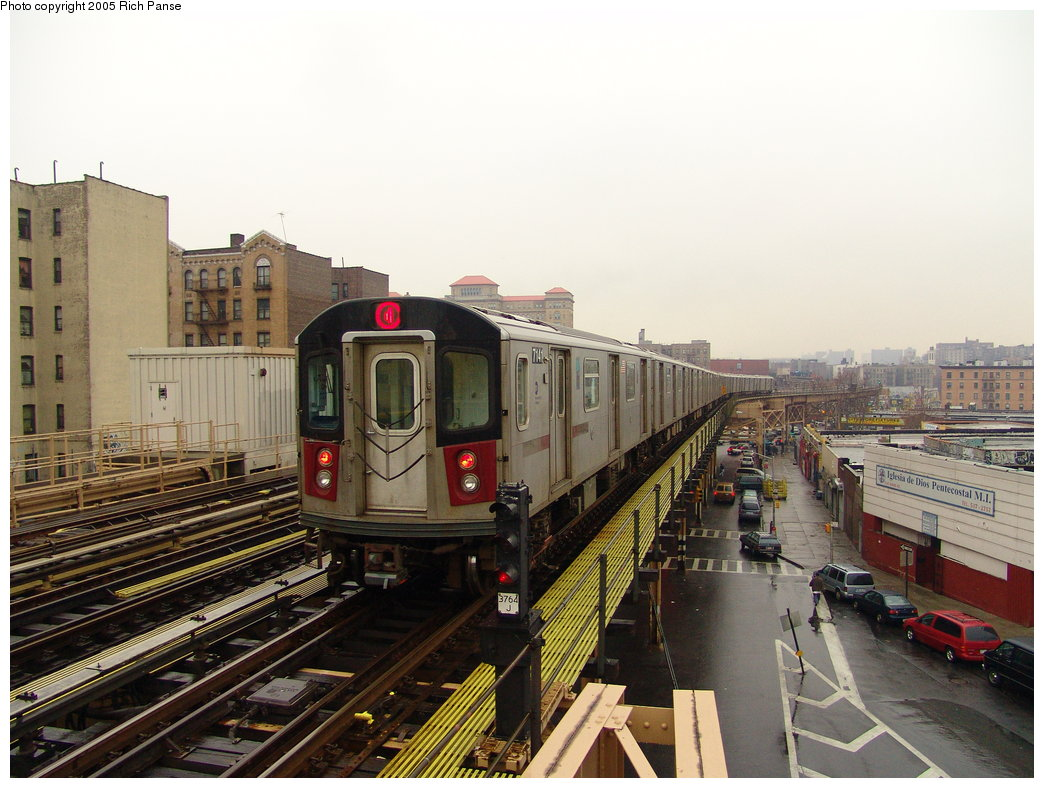 (187k, 1044x788)<br><b>Country:</b> United States<br><b>City:</b> New York<br><b>System:</b> New York City Transit<br><b>Line:</b> IRT Woodlawn Line<br><b>Location:</b> 170th Street <br><b>Route:</b> 4<br><b>Car:</b> R-142 (Option Order, Bombardier, 2002-2003)  7141 <br><b>Photo by:</b> Richard Panse<br><b>Date:</b> 3/20/2005<br><b>Viewed (this week/total):</b> 0 / 3715