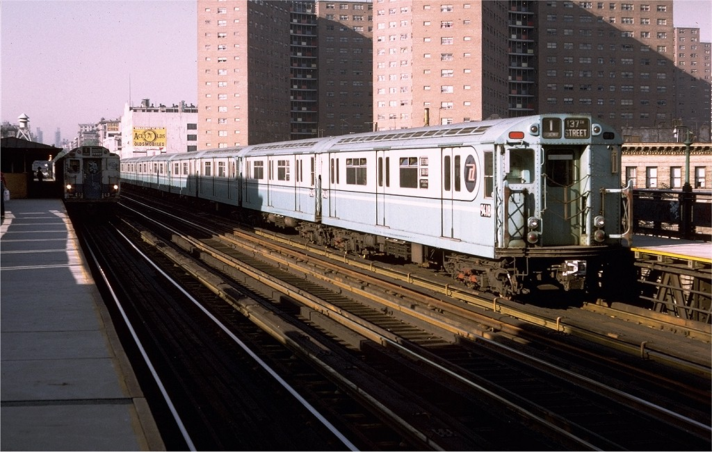 (208k, 1024x651)<br><b>Country:</b> United States<br><b>City:</b> New York<br><b>System:</b> New York City Transit<br><b>Line:</b> IRT West Side Line<br><b>Location:</b> 125th Street <br><b>Route:</b> 1<br><b>Car:</b> R-36 World's Fair (St. Louis, 1963-64) 9418 <br><b>Photo by:</b> Doug Grotjahn<br><b>Collection of:</b> Joe Testagrose<br><b>Date:</b> 5/24/1974<br><b>Viewed (this week/total):</b> 1 / 2829