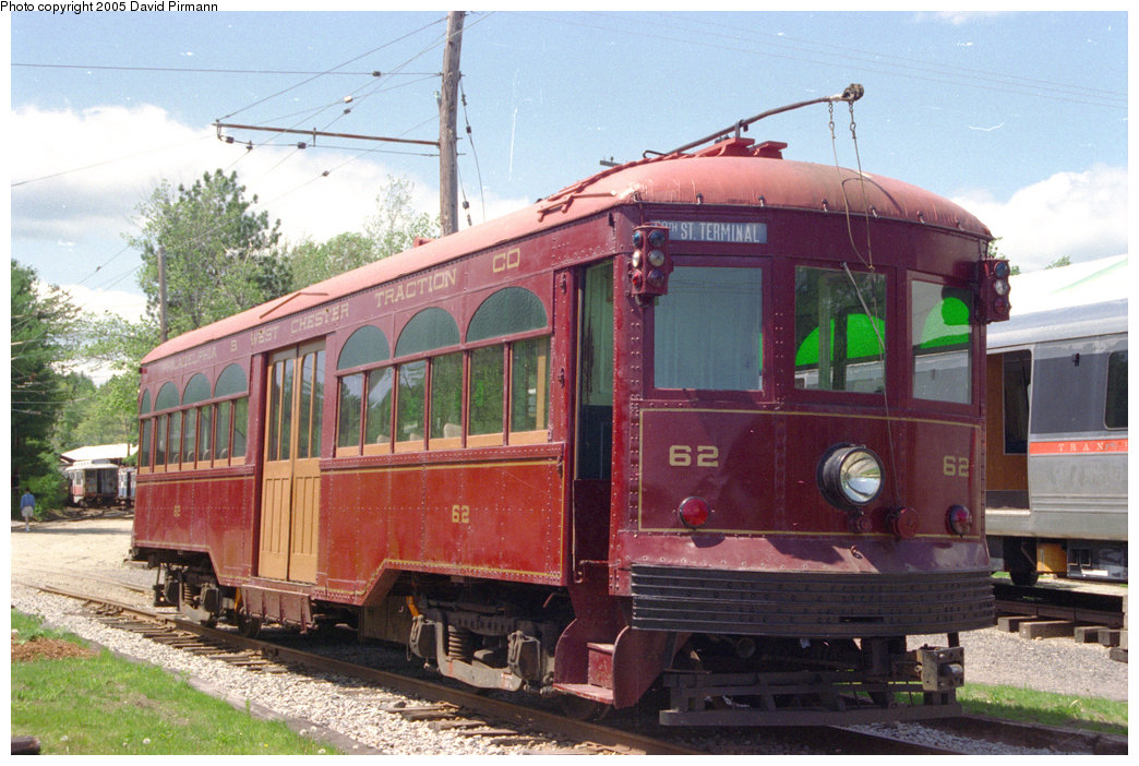 (220k, 1044x702)<br><b>Country:</b> United States<br><b>City:</b> Kennebunk, ME<br><b>System:</b> Seashore Trolley Museum <br><b>Car:</b> PSTC Center Entrance Interurban (J.G. Brill, 1926)  62 <br><b>Photo by:</b> David Pirmann<br><b>Date:</b> 5/25/1996<br><b>Viewed (this week/total):</b> 0 / 1558