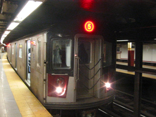 (54k, 640x480)<br><b>Country:</b> United States<br><b>City:</b> New York<br><b>System:</b> New York City Transit<br><b>Line:</b> IRT East Side Line<br><b>Location:</b> Brooklyn Bridge/City Hall <br><b>Route:</b> 6<br><b>Car:</b> R-142A (Supplemental Order, Kawasaki, 2003-2004)  7745 <br><b>Photo by:</b> Oren H.<br><b>Date:</b> 3/5/2005<br><b>Viewed (this week/total):</b> 2 / 5786