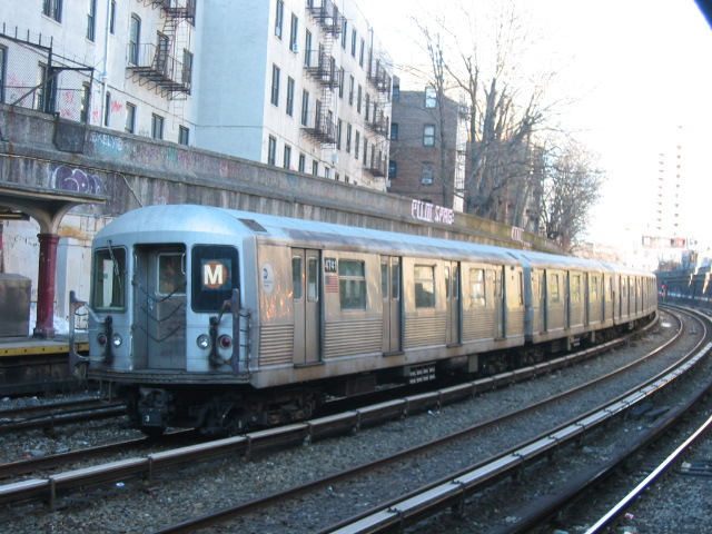 (132k, 640x480)<br><b>Country:</b> United States<br><b>City:</b> New York<br><b>System:</b> New York City Transit<br><b>Line:</b> BMT Brighton Line<br><b>Location:</b> Parkside Avenue <br><b>Route:</b> M<br><b>Car:</b> R-42 (St. Louis, 1969-1970)  4741 <br><b>Photo by:</b> Oren H.<br><b>Date:</b> 3/5/2005<br><b>Notes:</b> Construction shuttle service.<br><b>Viewed (this week/total):</b> 1 / 3297