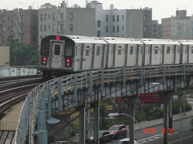 (153k, 640x480)<br><b>Country:</b> United States<br><b>City:</b> New York<br><b>System:</b> New York City Transit<br><b>Line:</b> IRT White Plains Road Line<br><b>Location:</b> West Farms Sq./East Tremont Ave./177th St. <br><b>Route:</b> 2<br><b>Car:</b> R-142 or R-142A (Number Unknown)  <br><b>Photo by:</b> DeAndre Burrell<br><b>Date:</b> 6/30/2005<br><b>Viewed (this week/total):</b> 0 / 3687