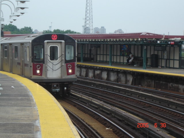 (147k, 640x480)<br><b>Country:</b> United States<br><b>City:</b> New York<br><b>System:</b> New York City Transit<br><b>Line:</b> IRT White Plains Road Line<br><b>Location:</b> West Farms Sq./East Tremont Ave./177th St. <br><b>Route:</b> 2<br><b>Car:</b> R-142 or R-142A (Number Unknown)  <br><b>Photo by:</b> DeAndre Burrell<br><b>Date:</b> 6/30/2005<br><b>Viewed (this week/total):</b> 0 / 3688