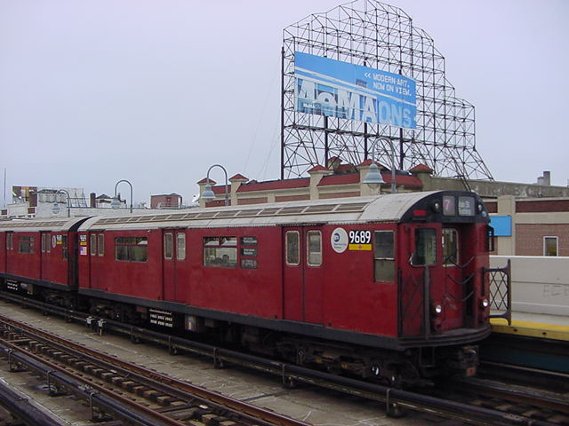 (60k, 640x480)<br><b>Country:</b> United States<br><b>City:</b> New York<br><b>System:</b> New York City Transit<br><b>Line:</b> IRT Flushing Line<br><b>Location:</b> 33rd Street/Rawson Street <br><b>Route:</b> 7<br><b>Car:</b> R-36 World's Fair (St. Louis, 1963-64) 9689 <br><b>Photo by:</b> Salaam Allah<br><b>Date:</b> 9/27/2002<br><b>Viewed (this week/total):</b> 1 / 3069