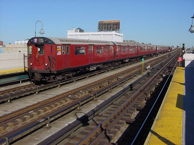 (60k, 640x480)<br><b>Country:</b> United States<br><b>City:</b> New York<br><b>System:</b> New York City Transit<br><b>Line:</b> IRT Flushing Line<br><b>Location:</b> 33rd Street/Rawson Street <br><b>Car:</b> R-36 World's Fair (St. Louis, 1963-64) 9750 <br><b>Photo by:</b> Salaam Allah<br><b>Date:</b> 9/17/2002<br><b>Viewed (this week/total):</b> 0 / 2343