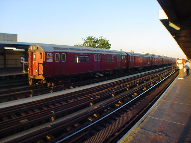 (59k, 640x480)<br><b>Country:</b> United States<br><b>City:</b> New York<br><b>System:</b> New York City Transit<br><b>Line:</b> IRT Flushing Line<br><b>Location:</b> 74th Street/Broadway <br><b>Route:</b> 7<br><b>Car:</b> R-36 World's Fair (St. Louis, 1963-64) 9750 <br><b>Photo by:</b> Salaam Allah<br><b>Date:</b> 9/17/2002<br><b>Viewed (this week/total):</b> 1 / 2285