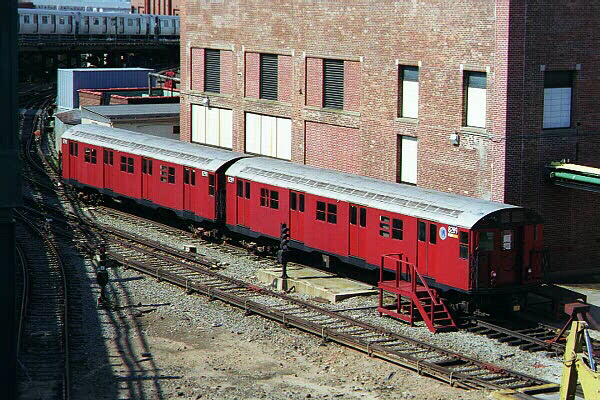 (158k, 600x400)<br><b>Country:</b> United States<br><b>City:</b> New York<br><b>System:</b> New York City Transit<br><b>Location:</b> Coney Island Yard-Training Facilities<br><b>Car:</b> R-30 (St. Louis, 1961) 8289 <br><b>Photo by:</b> Sidney Keyles<br><b>Date:</b> 5/22/1999<br><b>Viewed (this week/total):</b> 7 / 7679