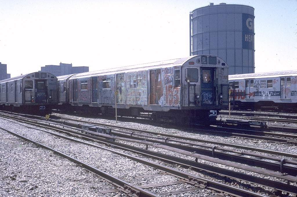(281k, 1024x680)<br><b>Country:</b> United States<br><b>City:</b> New York<br><b>System:</b> New York City Transit<br><b>Location:</b> Coney Island Yard<br><b>Car:</b> R-32 (Budd, 1964)  3601 <br><b>Photo by:</b> Steve Zabel<br><b>Collection of:</b> Joe Testagrose<br><b>Date:</b> 3/26/1973<br><b>Viewed (this week/total):</b> 1 / 4315