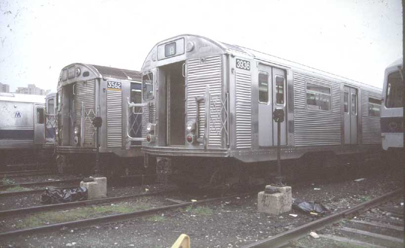 (45k, 820x502)<br><b>Country:</b> United States<br><b>City:</b> New York<br><b>System:</b> New York City Transit<br><b>Location:</b> Coney Island Yard<br><b>Car:</b> R-32 (GE Rebuild) 3936 <br><b>Photo by:</b> Harold<br><b>Viewed (this week/total):</b> 1 / 3087
