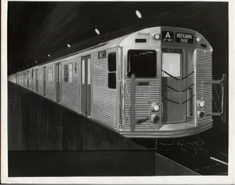 (49k, 785x618)<br><b>Country:</b> United States<br><b>City:</b> New York<br><b>System:</b> New York City Transit<br><b>Car:</b> R-32 (Budd, 1964)   <br><b>Collection of:</b> Phil Hom<br><b>Viewed (this week/total):</b> 3 / 3759