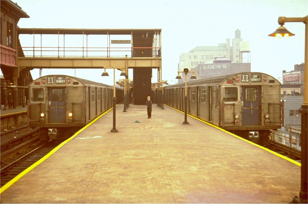 (174k, 1024x678)<br><b>Country:</b> United States<br><b>City:</b> New York<br><b>System:</b> New York City Transit<br><b>Location:</b> Coney Island/Stillwell Avenue<br><b>Route:</b> TT<br><b>Car:</b> R-32 (Budd, 1964)   <br><b>Collection of:</b> Joe Testagrose<br><b>Viewed (this week/total):</b> 8 / 6529