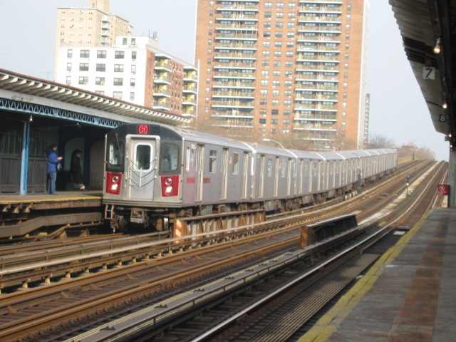 (131k, 640x480)<br><b>Country:</b> United States<br><b>City:</b> New York<br><b>System:</b> New York City Transit<br><b>Line:</b> IRT White Plains Road Line<br><b>Location:</b> Pelham Parkway <br><b>Route:</b> 2<br><b>Car:</b> R-142 (Primary Order, Bombardier, 1999-2002)  6335 <br><b>Photo by:</b> Oren H.<br><b>Date:</b> 11/29/2002<br><b>Viewed (this week/total):</b> 0 / 4448