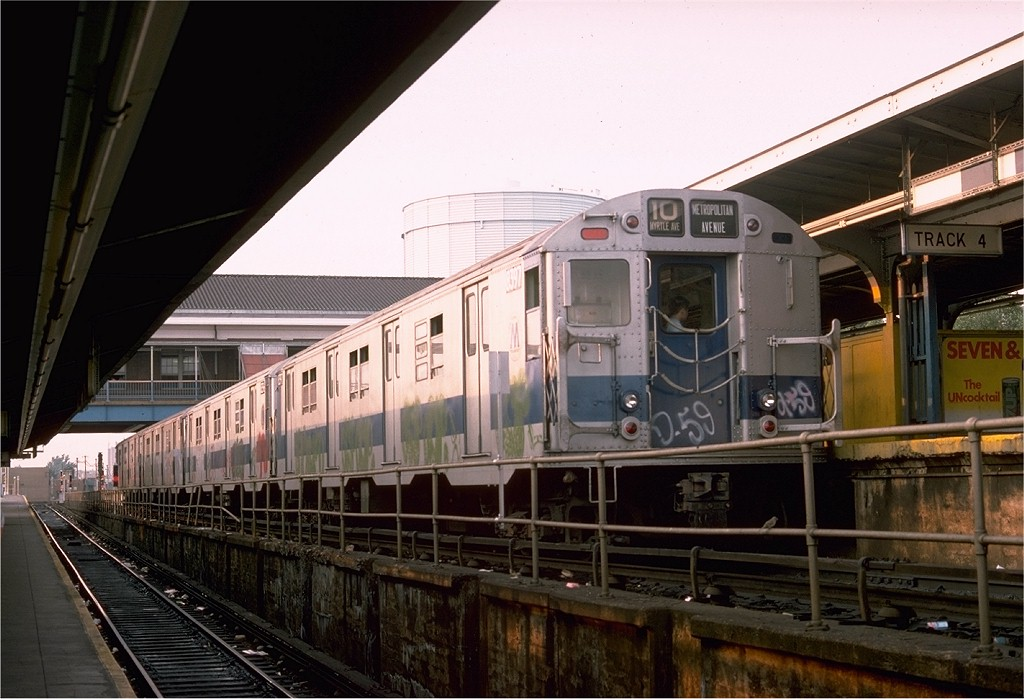 (183k, 1024x699)<br><b>Country:</b> United States<br><b>City:</b> New York<br><b>System:</b> New York City Transit<br><b>Location:</b> Coney Island/Stillwell Avenue<br><b>Route:</b> M<br><b>Car:</b> R-30 (St. Louis, 1961) 8397 <br><b>Photo by:</b> Doug Grotjahn<br><b>Collection of:</b> Joe Testagrose<br><b>Date:</b> 8/12/1975<br><b>Viewed (this week/total):</b> 9 / 2891
