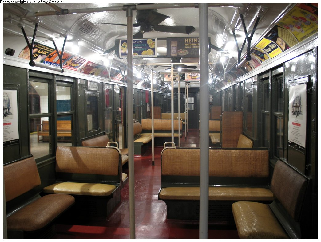 (164k, 1044x788)<br><b>Country:</b> United States<br><b>City:</b> New York<br><b>System:</b> New York City Transit<br><b>Location:</b> New York Transit Museum<br><b>Car:</b> BMT A/B-Type Standard 2204 <br><b>Photo by:</b> Jeffrey Ornstein<br><b>Date:</b> 8/19/2005<br><b>Viewed (this week/total):</b> 0 / 3662