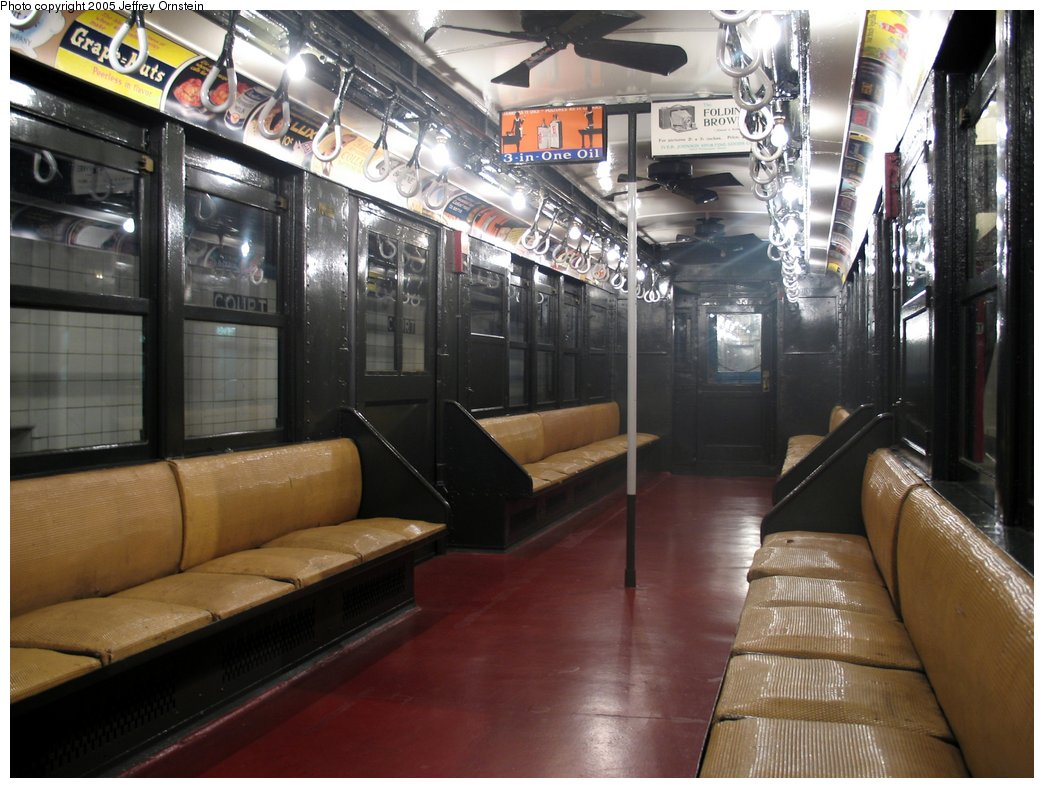 (164k, 1044x788)<br><b>Country:</b> United States<br><b>City:</b> New York<br><b>System:</b> New York City Transit<br><b>Location:</b> New York Transit Museum<br><b>Car:</b> Low-V 4902 <br><b>Photo by:</b> Jeffrey Ornstein<br><b>Date:</b> 8/19/2005<br><b>Viewed (this week/total):</b> 1 / 3739