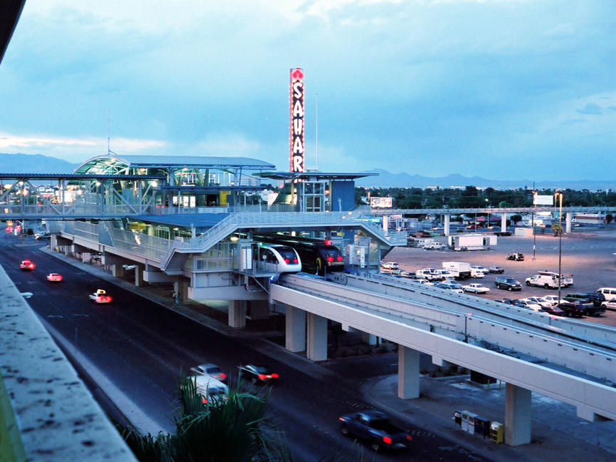(115k, 864x648)<br><b>Country:</b> United States<br><b>City:</b> Las Vegas, NV<br><b>System:</b> Las Vegas Monorail<br><b>Location:</b> Sahara <br><b>Photo by:</b> D. Reinecke<br><b>Date:</b> 8/2005<br><b>Viewed (this week/total):</b> 5 / 2388