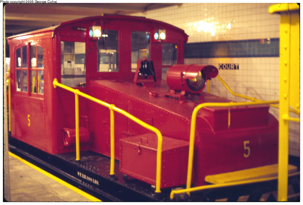 (187k, 1044x706)<br><b>Country:</b> United States<br><b>City:</b> New York<br><b>System:</b> New York City Transit<br><b>Location:</b> New York Transit Museum<br><b>Car:</b> SBK Steeplecab 6 <br><b>Photo by:</b> George Cuhaj<br><b>Date:</b> 7/2/1976<br><b>Viewed (this week/total):</b> 4 / 1972