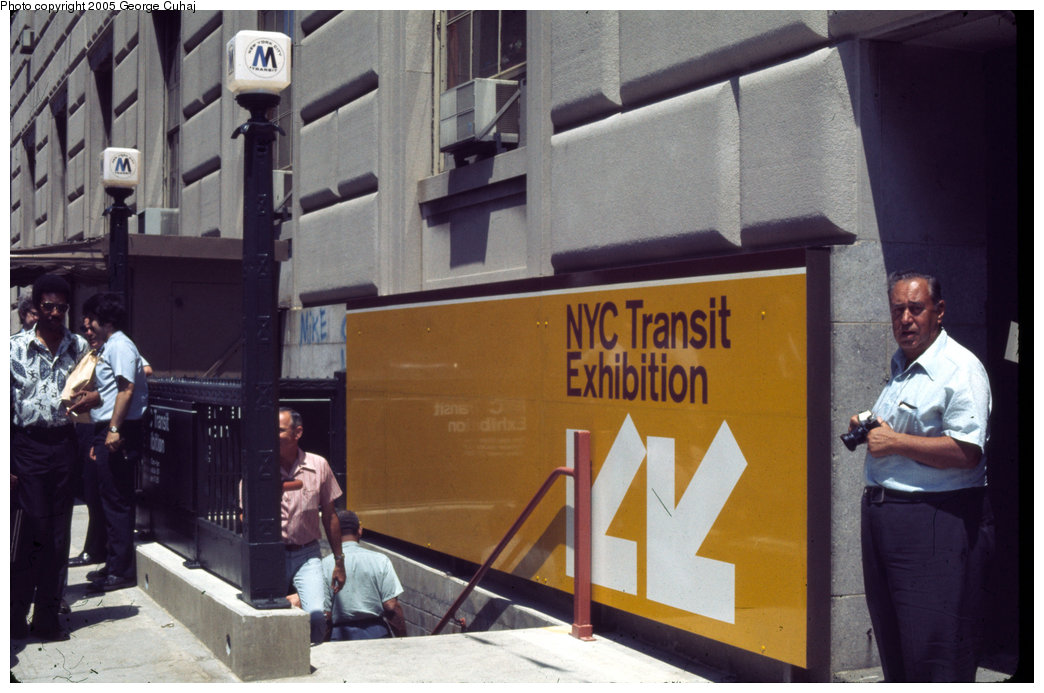 (189k, 1044x693)<br><b>Country:</b> United States<br><b>City:</b> New York<br><b>System:</b> New York City Transit<br><b>Location:</b> New York Transit Museum<br><b>Photo by:</b> George Cuhaj<br><b>Date:</b> 7/2/1976<br><b>Viewed (this week/total):</b> 1 / 6960