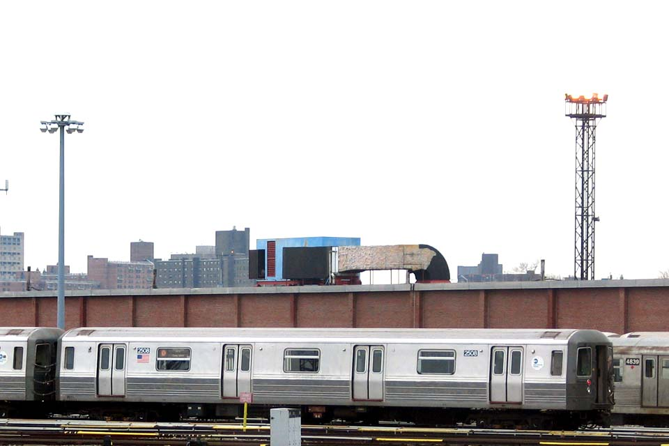 (71k, 960x640)<br><b>Country:</b> United States<br><b>City:</b> New York<br><b>System:</b> New York City Transit<br><b>Location:</b> Coney Island Yard<br><b>Car:</b> R-68 (Westinghouse-Amrail, 1986-1988)  2508 <br><b>Photo by:</b> Michael Pompili<br><b>Date:</b> 4/3/2004<br><b>Viewed (this week/total):</b> 2 / 3082