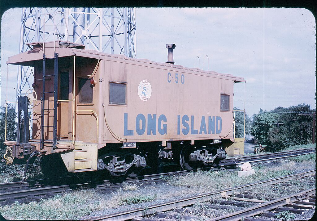 (197k, 1024x716)<br><b>Country:</b> United States<br><b>City:</b> New York<br><b>System:</b> Long Island Rail Road<br><b>Line:</b> LIRR Long Island City<br><b>Location:</b> Richmond Hill <br><b>Car:</b> LIRR Caboose 50 <br><b>Photo by:</b> Steve Hoskins<br><b>Notes:</b> 1960s<br><b>Viewed (this week/total):</b> 1 / 793