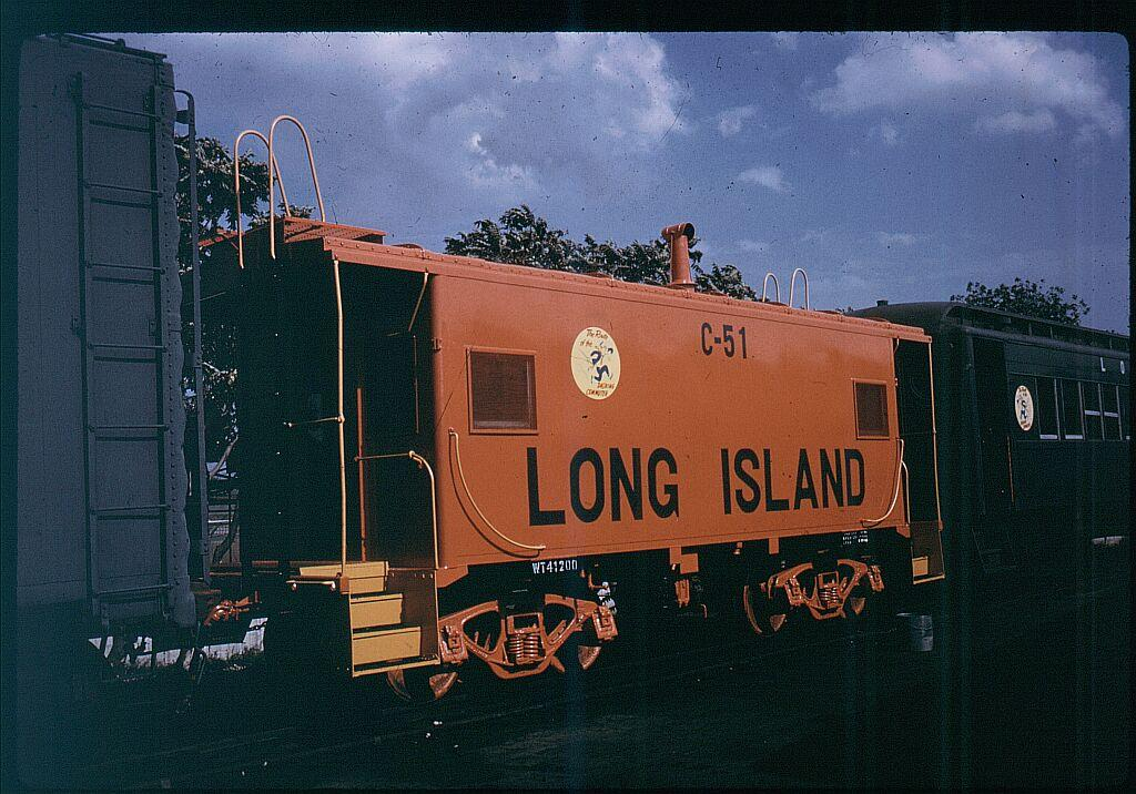 (143k, 1024x716)<br><b>Country:</b> United States<br><b>City:</b> New York<br><b>System:</b> Long Island Rail Road<br><b>Line:</b> LIRR Long Island City<br><b>Location:</b> Richmond Hill <br><b>Car:</b> LIRR Caboose 51 <br><b>Photo by:</b> Steve Hoskins<br><b>Notes:</b> 1960s<br><b>Viewed (this week/total):</b> 0 / 777