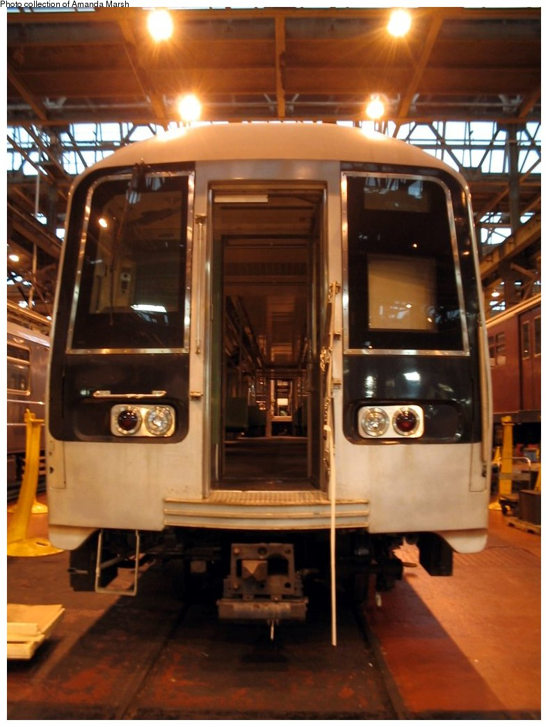 (133k, 788x1044)<br><b>Country:</b> United States<br><b>City:</b> New York<br><b>System:</b> New York City Transit<br><b>Location:</b> 207th Street Shop<br><b>Car:</b> R-110B (Bombardier, 1992) 3001 <br><b>Collection of:</b> Amanda Marsh<br><b>Date:</b> 7/18/2004<br><b>Viewed (this week/total):</b> 0 / 3708