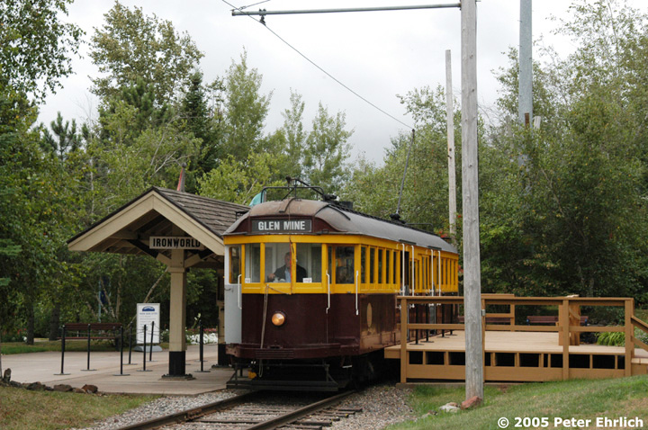 (193k, 720x478)<br><b>Country:</b> United States<br><b>City:</b> Chisholm, MN<br><b>System:</b> Ironworld<br><b>Car:</b> Melbourne W2 Class (1923-1931)  601 <br><b>Photo by:</b> Peter Ehrlich<br><b>Date:</b> 8/29/2005<br><b>Viewed (this week/total):</b> 1 / 873