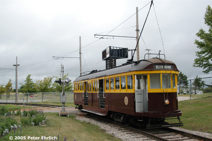 (138k, 720x478)<br><b>Country:</b> United States<br><b>City:</b> Chisholm, MN<br><b>System:</b> Ironworld<br><b>Car:</b> Melbourne W2 Class (1923-1931)  601 <br><b>Photo by:</b> Peter Ehrlich<br><b>Date:</b> 8/29/2005<br><b>Notes:</b> Departing Ironworld station.<br><b>Viewed (this week/total):</b> 0 / 917