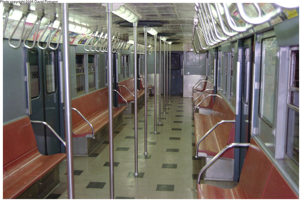 (204k, 1044x699)<br><b>Country:</b> United States<br><b>City:</b> New York<br><b>System:</b> New York City Transit<br><b>Location:</b> New York Transit Museum<br><b>Car:</b> R-30 (St. Louis, 1961) 8506 <br><b>Photo by:</b> David Pirmann<br><b>Date:</b> 10/1/1995<br><b>Viewed (this week/total):</b> 2 / 2992