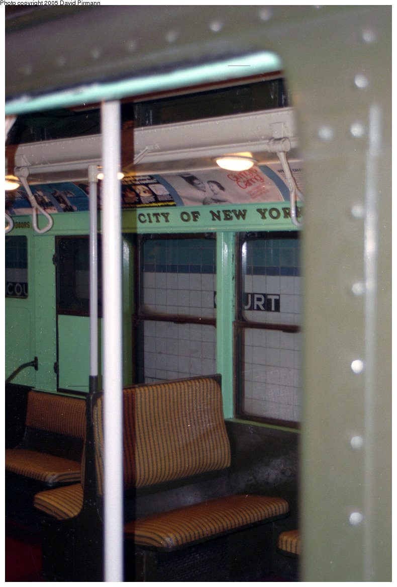 (196k, 790x1167)<br><b>Country:</b> United States<br><b>City:</b> New York<br><b>System:</b> New York City Transit<br><b>Location:</b> New York Transit Museum<br><b>Car:</b> R-4 (American Car & Foundry, 1932-1933) 484 <br><b>Photo by:</b> David Pirmann<br><b>Date:</b> 10/1/1995<br><b>Viewed (this week/total):</b> 0 / 1767